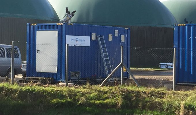 Leachate Concentration in Biogas Plants