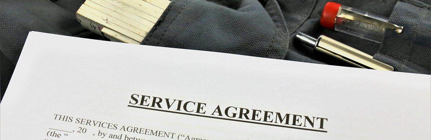 Service-Verträge